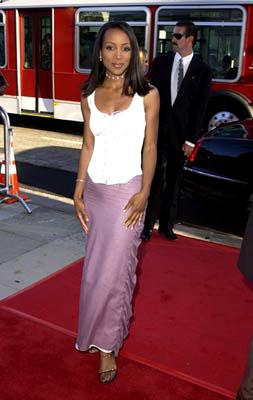 Shaun Robinson at the Beverly Hills premiere of Universal's Captain Corelli's Mandolin