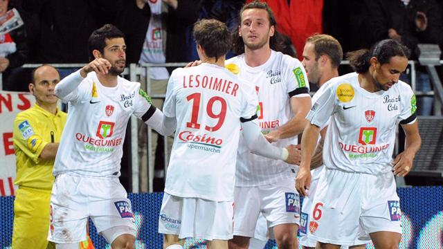 Ligue 1 - Brest ease to win over Lorient