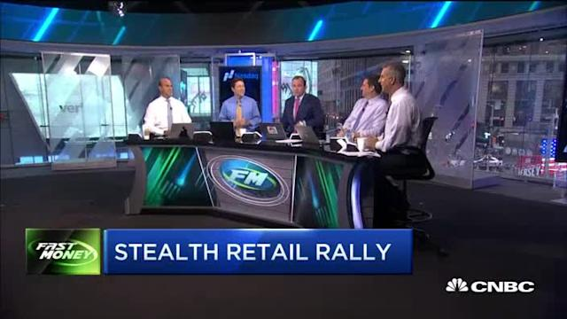 What's behind the undercover rally in retail
