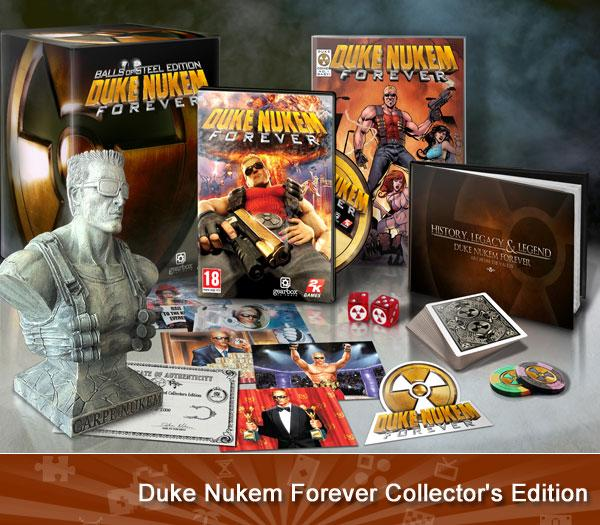 Duke Nukem Forever Collector's Edition