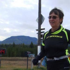 70-year old woman finishes ultramarathon