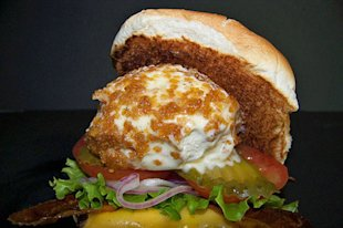 Cheeseburger with Deep-Fried Ice Cream, Florida