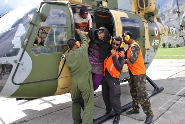 North India floods: Army leads rescue operations