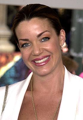 Claudia Christian at the Los Angeles premiere of Disney's Atlantis: The Lost Empire
