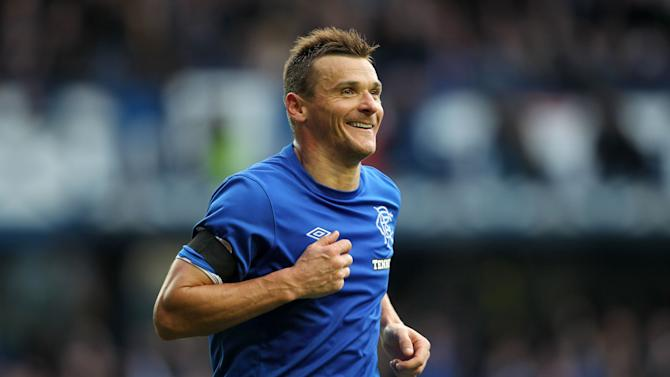 Lee McCulloch hit his seventh league goal of the season as Rangers recorded a first away win