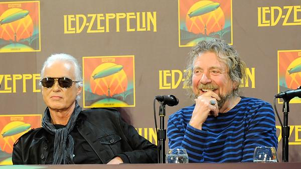 Led Zeppelin Clash With Reporters at New York Press Conference