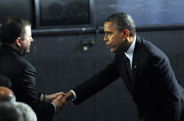 President Obama Visits Newtown, CT, Consoles Families Of Shooting Victims