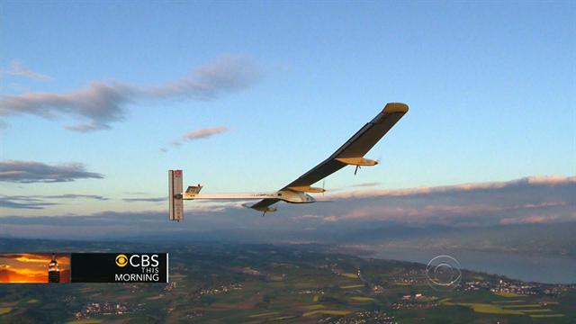 Headlines: Solar plane set to begin cross-country journey