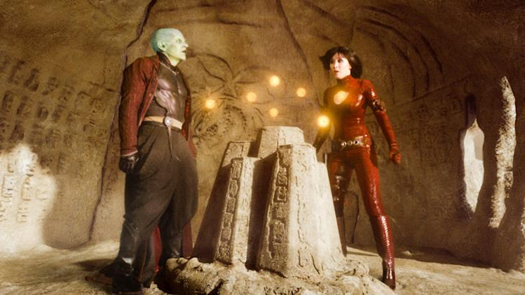 James Marsters Eriko Tamura Dragonball Evolution Production Stills 20th Century Fox 2009