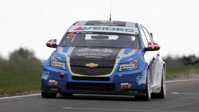 WTCC - Nykjaer wins dramatic first race in Marrakech