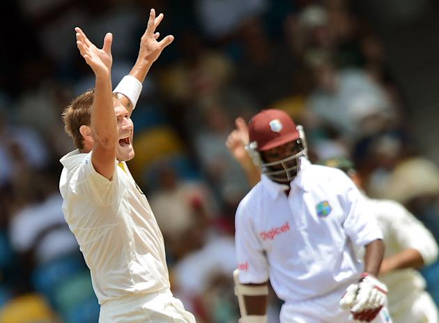 Ryan Harris: The right-arm fast bowler played an important role in Australia's victory in the first Test; he was rested for the second Test and had an average outing at Dominica. Harris took six wicke