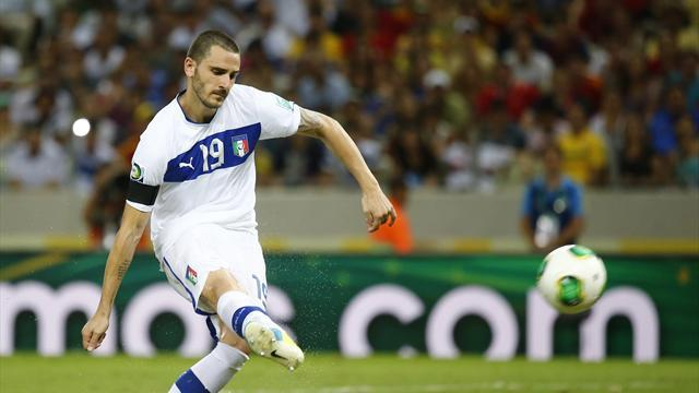 Confederations Cup - Giaccherini: Bonucci missed my penalty