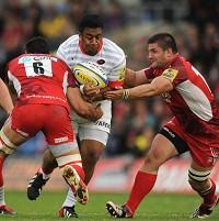 Mako Vunipola (centre) is in line to secure his first England call-up