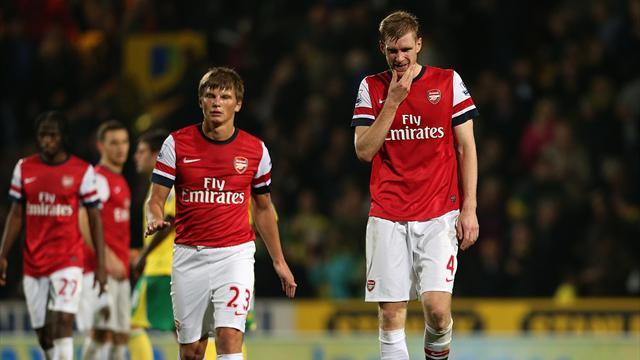 Premier League: Managers: Wenger reels from 'shock to the system'