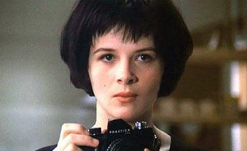 Juliette Binoche in The Unbearable Lightness of Being