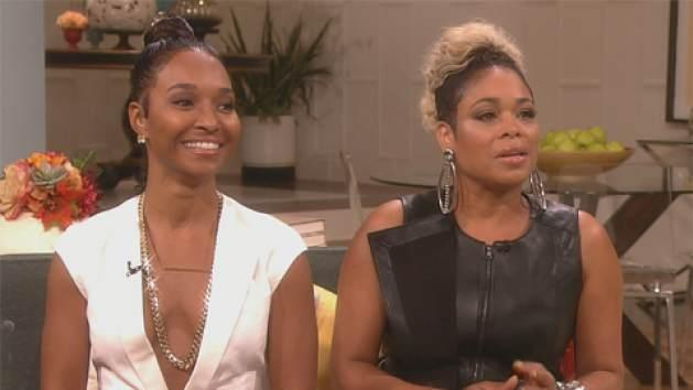 Chilli and T-Boz visit Access Hollywood Live, Oct. 21, 2013 -- Access Hollywood