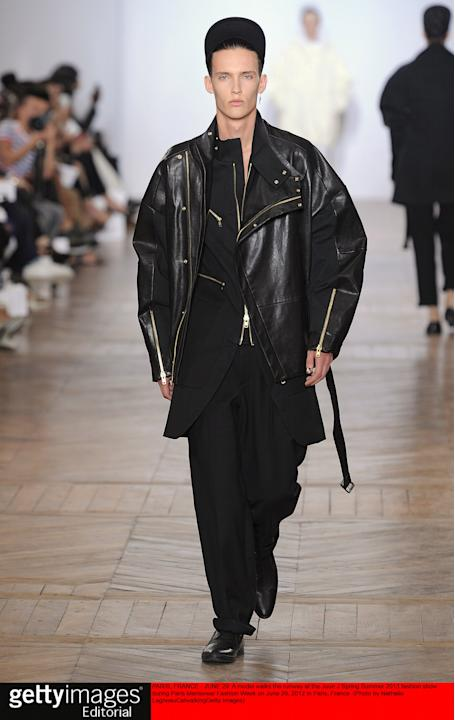 Juun J - Mens Spring Summer 2013 Runway - Paris Menswear Fashion Week