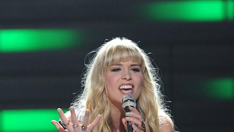 "Haley Johnsen performs ""Sweet Dreams (Are Made Of This)"" by Eurythmics on ""American Idol."""