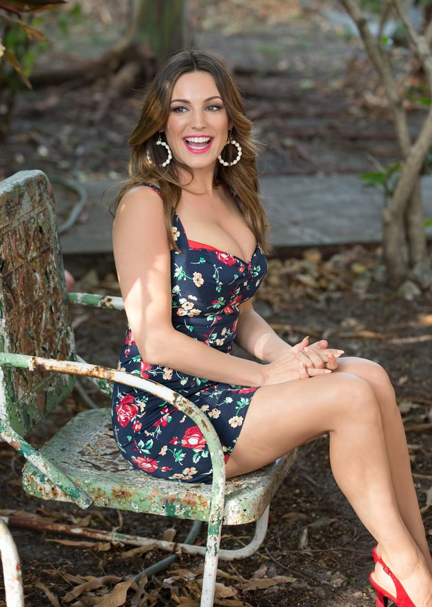 Kelly Brook's boobs and legs.