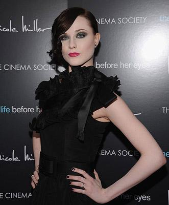 Evan Rachel Wood at the New York premiere of Magnolia Pictures' The Life Before Her Eyes