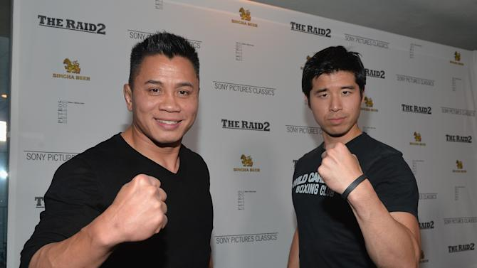 "Premiere Of Sony Picture Classics' ""The Raid 2"" - Red Carpet"
