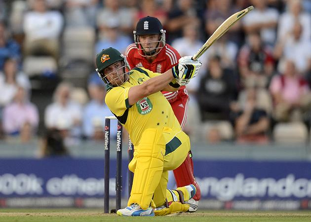 Finch's furious century puts cricket back in the headlines