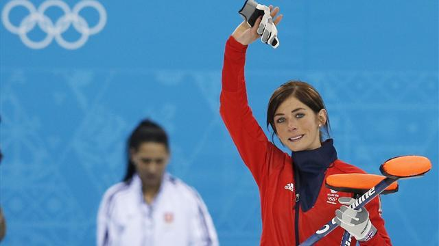 Curling - British women claim bronze after nerveless win