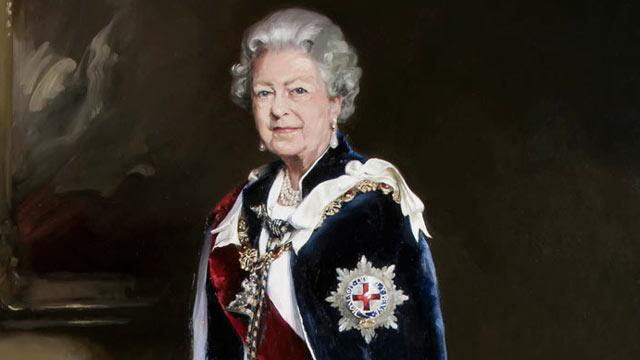 Queen's Portrait Compared to a 'Bloke Wearing a Wig'