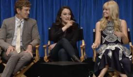 '2 Broke Girls' At PaleyFest: No Max's Mom Yet, But A Lot Of Horsing Around