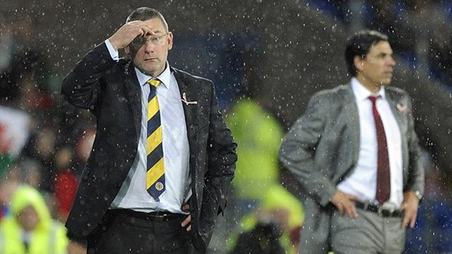 World Cup - Levein 'leaves Scotland job'