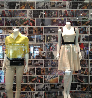 DKNY Brand in Fix Over Alleged HONY Photo Snatch image BrandonStanton DKNYWindow