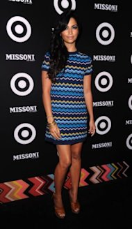 Camila Alves attends the Missoni For Target event, celebrating the Missoni for Target pop up store, in New York, on Wednesday, Sept. 7, 2011. (AP Photo/Peter Kramer)