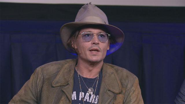 Johnny Depp Slept in 'Lone Ranger' Makeup