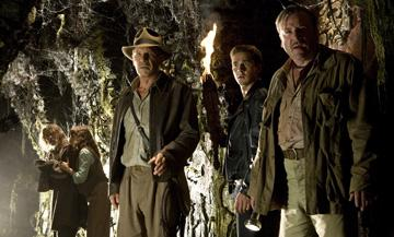 John Hurt , Karen Allen , Harrison Ford , Shia LaBeouf and Ray Winstone in Paramount Pictures' Indiana Jones and the Kingdom of the Crystal Skull