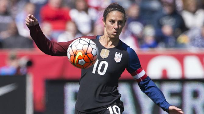 WATCH: Carli Lloyd hits laser into top corner against Switzerland