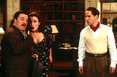 Nathan Lane , Stefania Rocca and Alessandro Nivola in Miramax's Love's Labour's Lost