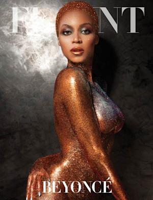 Beyonce on the cover of Flaunt -- Flaunt