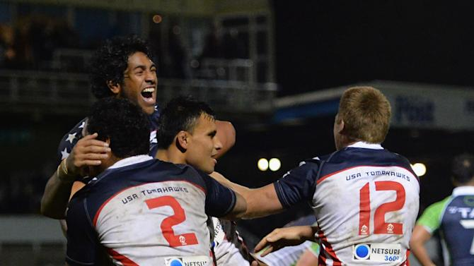 USA v Cook Islands - Rugby League World Cup: Group D