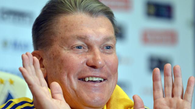 World Football - Ukraine legend Blokhin has surgery