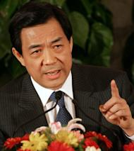 Disgraced Chinese leader Bo Xilai (pictured in 2007) ran an extensive wire-tapping system that spied on top officials including the president and contributed to his downfall, the New York Times said