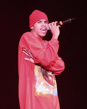 Chris Brown performing at KISS 106.1 Jingle Bell Bash 8