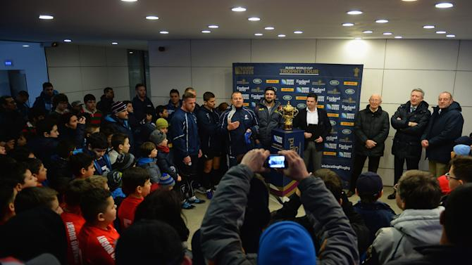 Rugby World Cup Trophy Tour - Romania