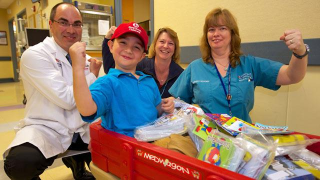 6-Year-Old Donates Thousands of Coloring Books to Kids in Hospital