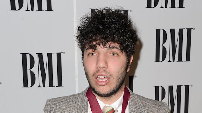 FILE - This May 15, 2012 file photo shows songwriter and producer Benny Blanco at The 60th Annual BMI Pop Awards in Beverly Hills, Calif.  Blanco will be the recipient of the prestigious Hal David Starlight Award, at the Songwriters Hall of Fame Gala on June 13, 2013. The Hal David Starlight Award, created in 2004, was renamed in honor of  Hal David, for his longtime support of young songwriters. (AP Photo/Katy Winn, file)