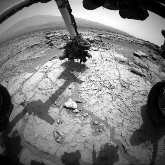 NASA's Curiosity Rover Poised to Drill Into Mars