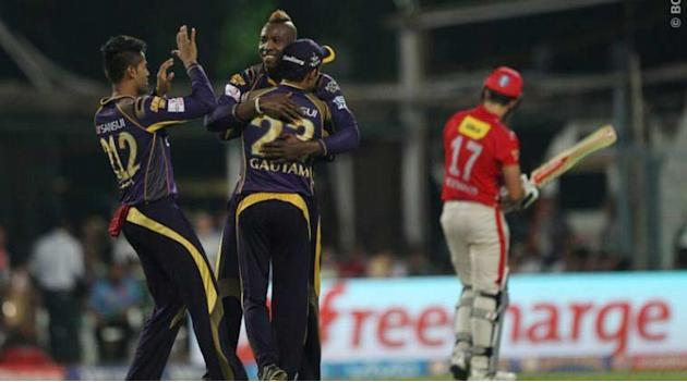 Live Cricket Score, IPL 2016, KKR vs KXIP: KKR pick early wickets to rattle KXIP at Eden Gardens