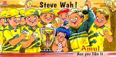 On Australia winning the 1999 World Cup