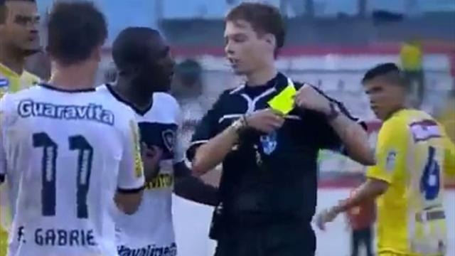 South American Football - Seedorf sent off for leaving pitch the wrong way