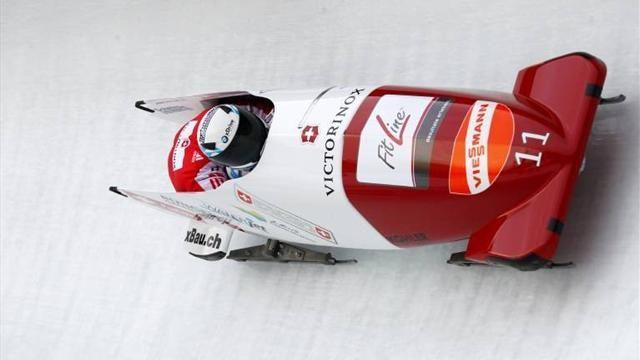 Bobsleigh - Hefti makes it two from two on home ice in St Moritz