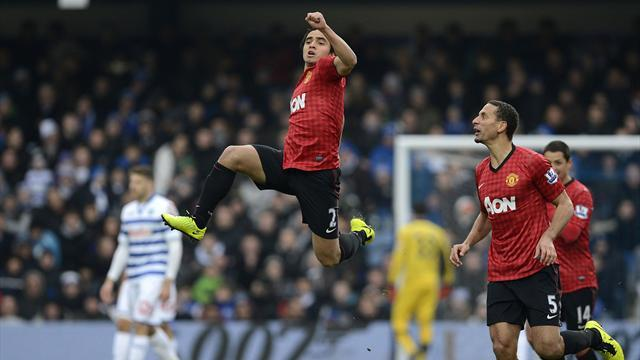 Premier League - Rafael thunderbolt wins Goal of the Week